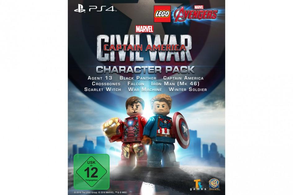 Kostenlos Fr PS4 Und PS3 Lego Captain America Civil War Charakter