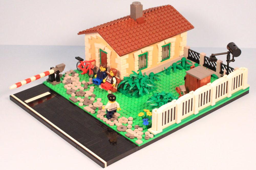 more photos a1fcd 8424f Lego MOC: Watchman's House   zusammengebaut