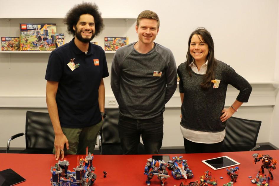 Lego Nexo Knights Design Team | © Andres Lehmann / zusammengebaut.com