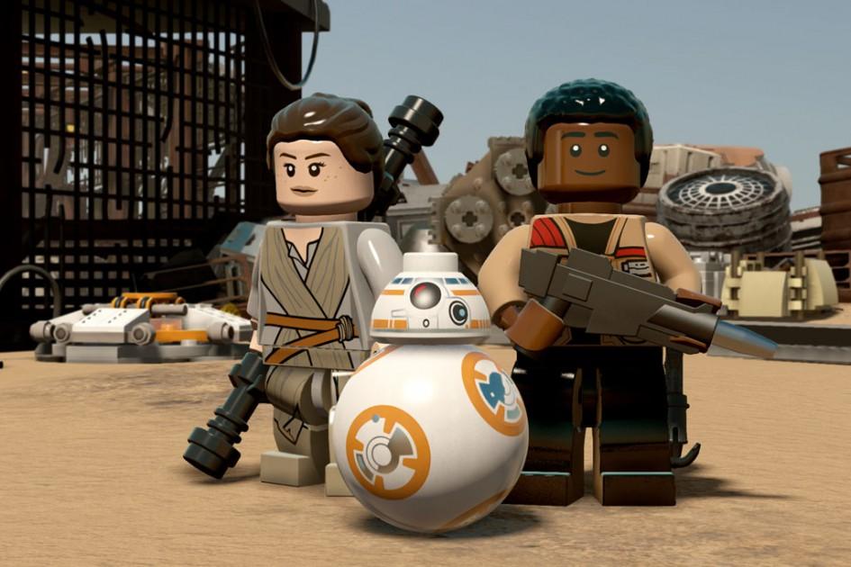 Rey und Finn | © Warner Bros. Interactive Entertainment