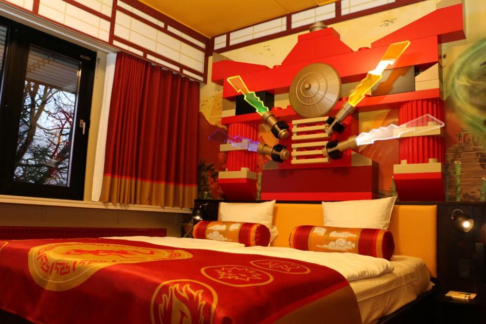 Legoland Hotel California Ninjago Room