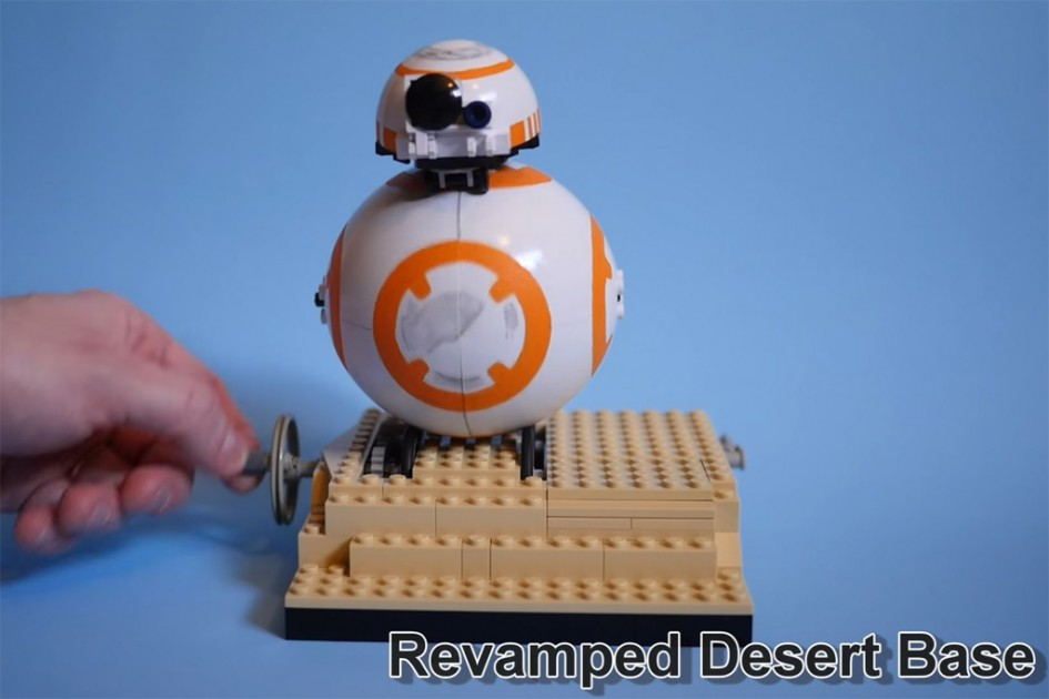 BB-8 als Lego Ideas Projekt | © Mark Smiley / YouTube Screenshot