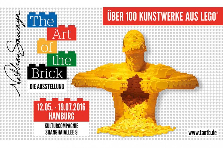 The Art of the Brick macht Station in Hamburg | © Nathan Sawaya
