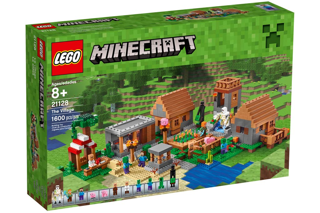 Lego Minecraft: The Village (21128) | © LEGO Group