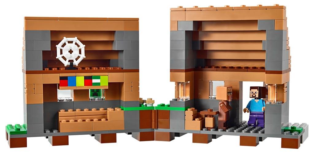 Das Haus lässt sich aufklappen. | © LEGO Group