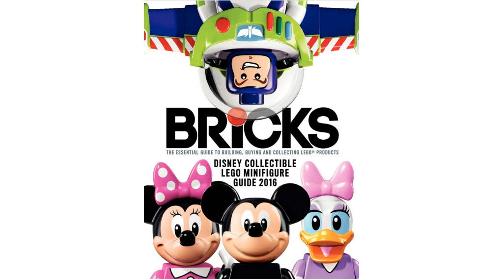 Aktuelle Ausgabe der Bricks in UK: Disney Collectible Lego Minifigure Guide 2016 | © BRICKS