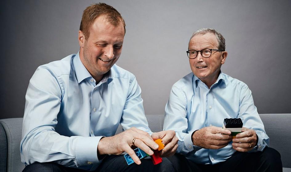 Thomas Kirk Kristiansen folgt auf seinen Vater Kjeld Kirk Kristiansen an der Spitze des Lego A/S | © LEGO Group