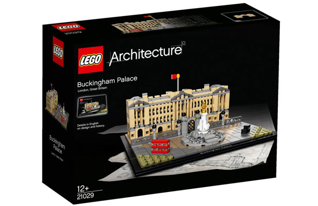 Lego Archticture Buckingham Palace (21029): Offizielles Box-Design | © LEGO Group