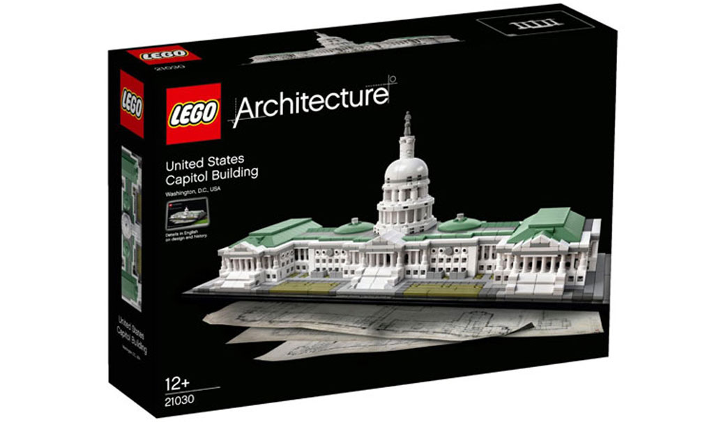 Lego Architecture United States Capitol Building (21030): Box | © LEGO Group