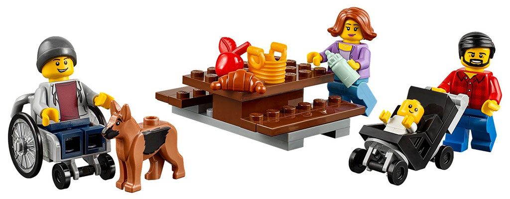 Das Picknick kann beginnen | © LEGO Group