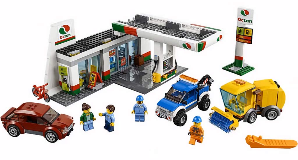 Lego City Service Station (60132) | © LEGO Group