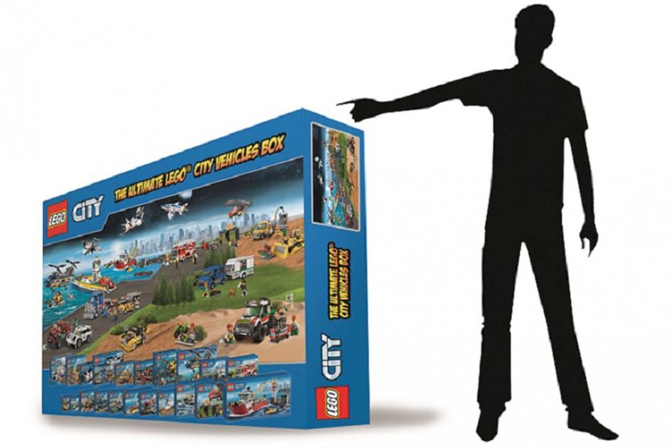 Ein Karton, eine Stadt, ein Gewinner! | © LEGO Gruppe