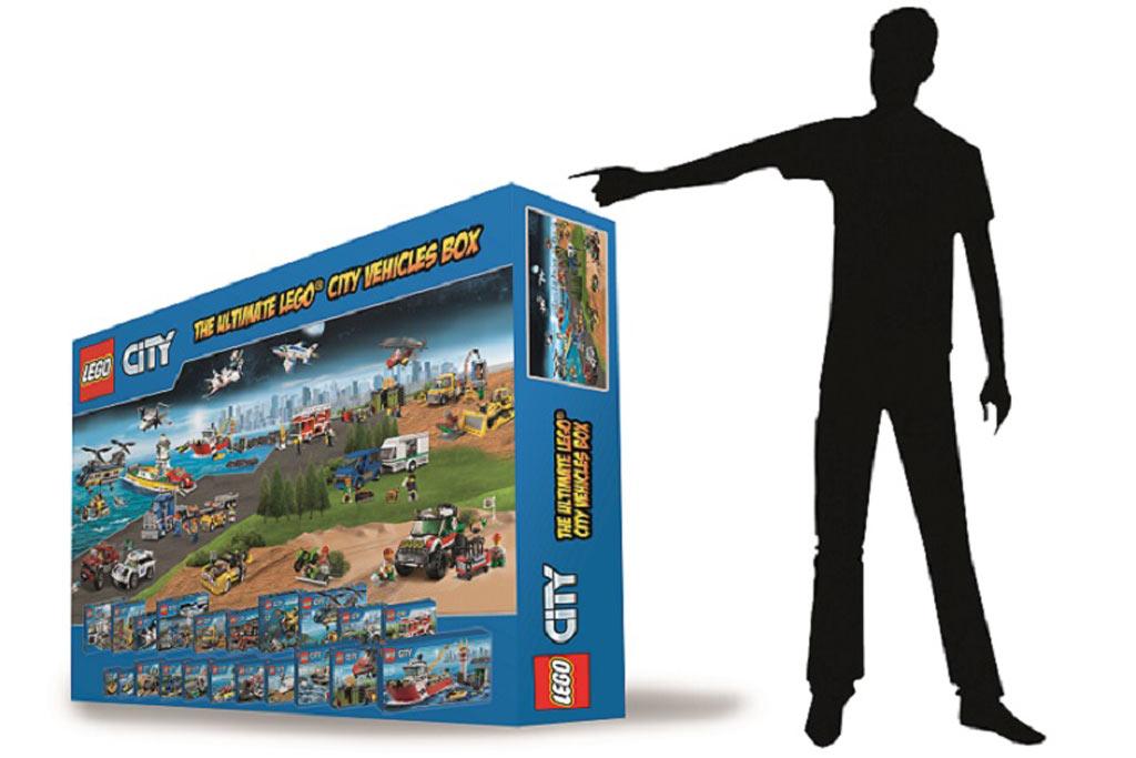 Ein Karton, eine Stadt, ein Gewinner!   © LEGO Gruppe