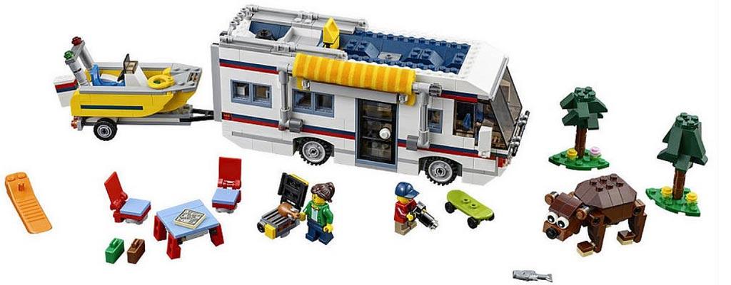 Der Urlaub kann starten! (31052) | © LEGO Group
