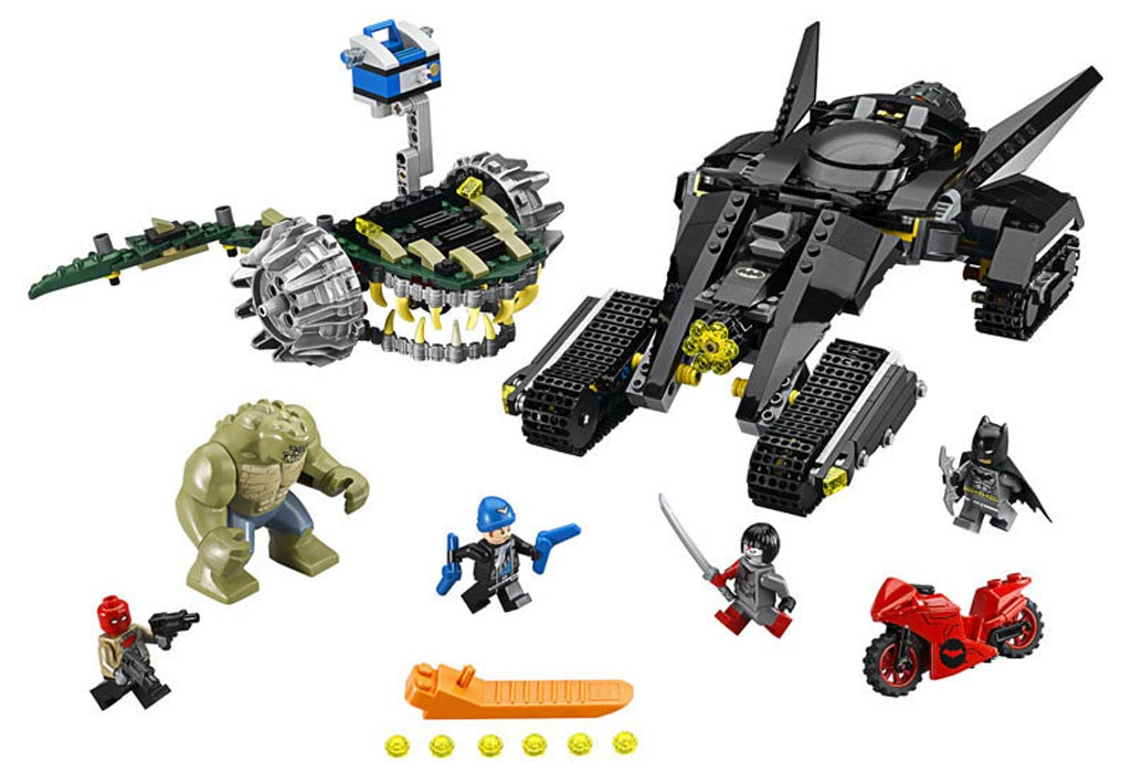Lego DC Comics Super Heroes - Batman: Batman: Killer Croc Sewer Smash (76055) | © LEGO Group