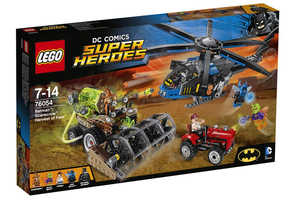 Lego DC Comics Super Heroes - Batman: Scarecrow Harvest of Fear (76054) | © LEGO Group