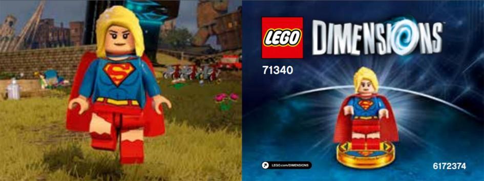 Es ist... Supergirl! | © LEGO Group / Warner Bros.