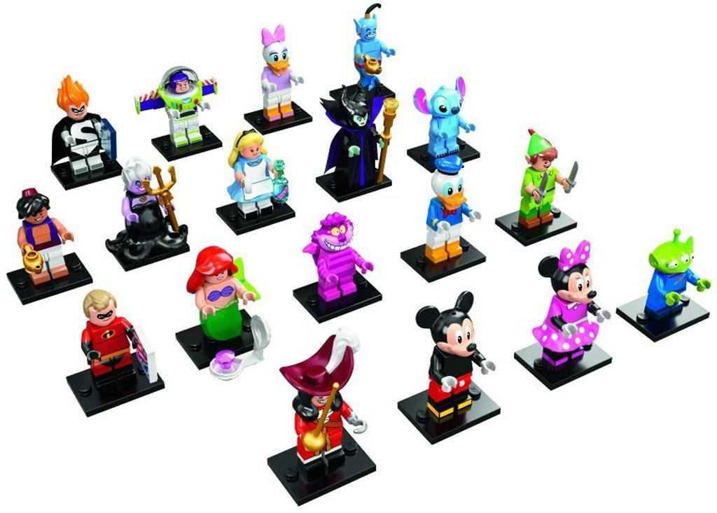 18 Lego Disney Minifiguren | © LEGO Group