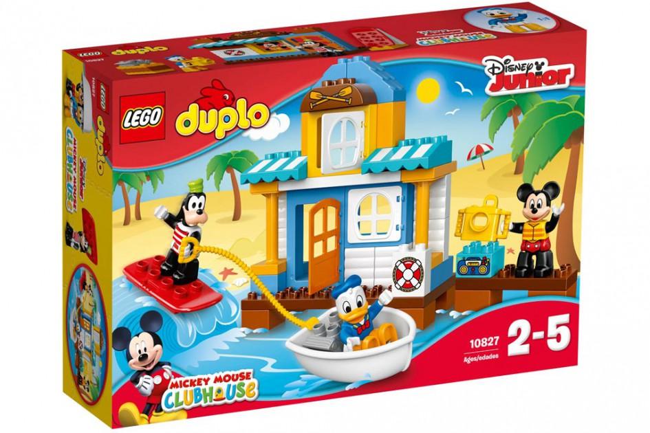 Lego Duplo Mickys Strandhaus  (10827) mit Goofy, Micky Maus und Donald Duck | © LEGO Group