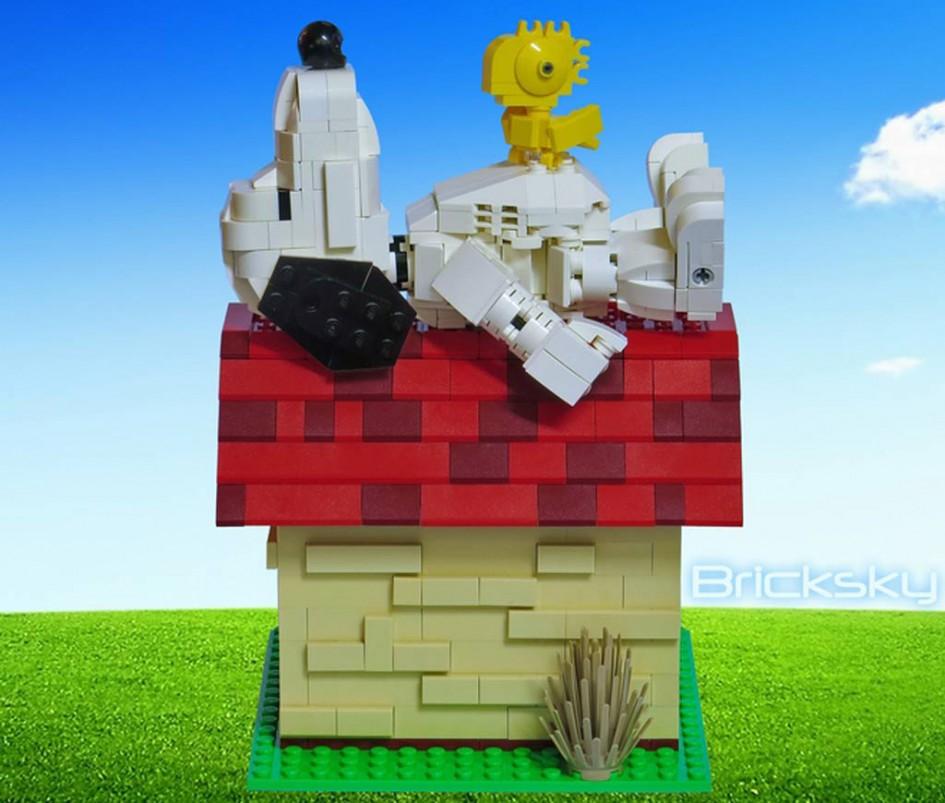 Lego Ideas Projekt von Bricksy: Snoopy & Woodstock | © LEGO Group