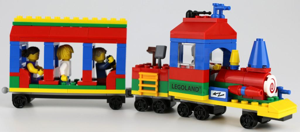 exklusives lego set legoland train 40166 im review zusammengebaut. Black Bedroom Furniture Sets. Home Design Ideas