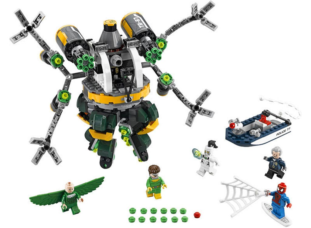 Lego Marvel Super Heroes - Spider-Man: Doc Ock's Tentacle Trap (76059) | © LEGO Group