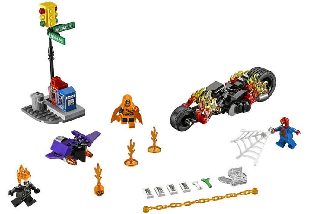 Lego Marvel Super Heroes - Spider-Man: Ghost Rider Team-Up (76058)   © LEGO Group