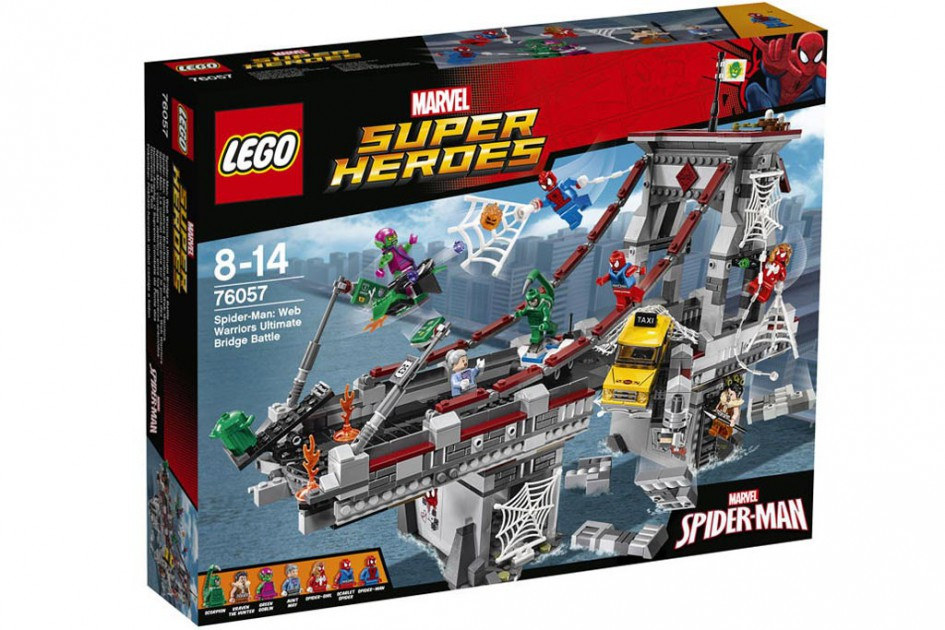 Lego Marvel Super Heroes - Spider-Man: Web Warriors Ultimate Bridge Battle (76057) | © LEGO Group