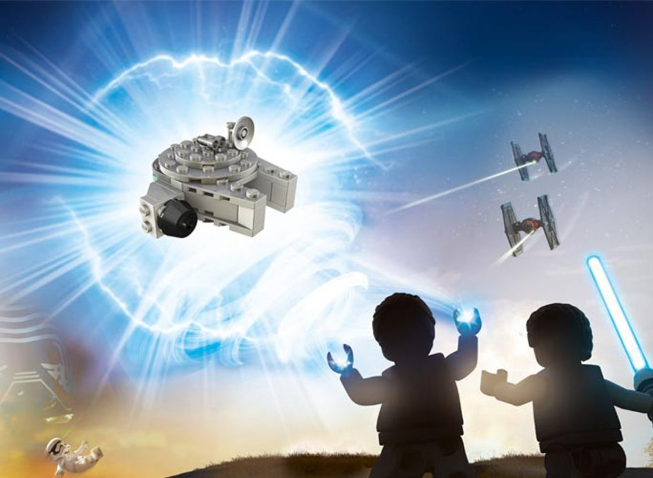 Kleiner Lego Millennium Falcon: Riesig! | © LEGO Group