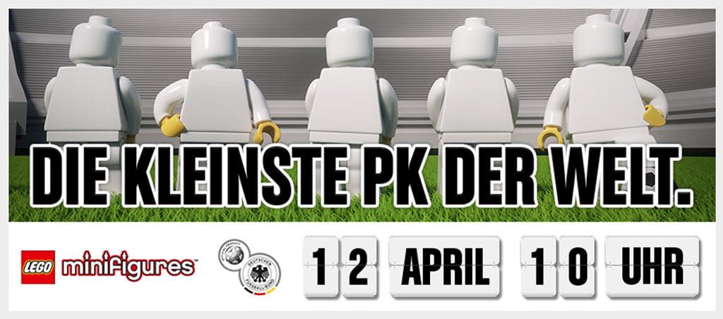 Nur noch wenige Tage bis zum Anpfiff! | © LEGO GmbH