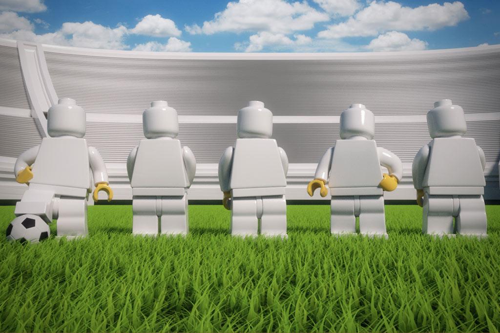 Bald laufen Jogis Mannen auf... | © LEGO GmbH