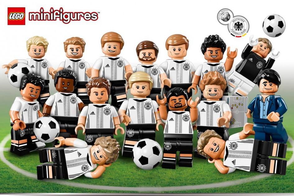 """Collectible minifigures """"Die Mannschaft"""" 71014 Lego-minifigures-die-mannschaft-dfb-71014-945x630"""