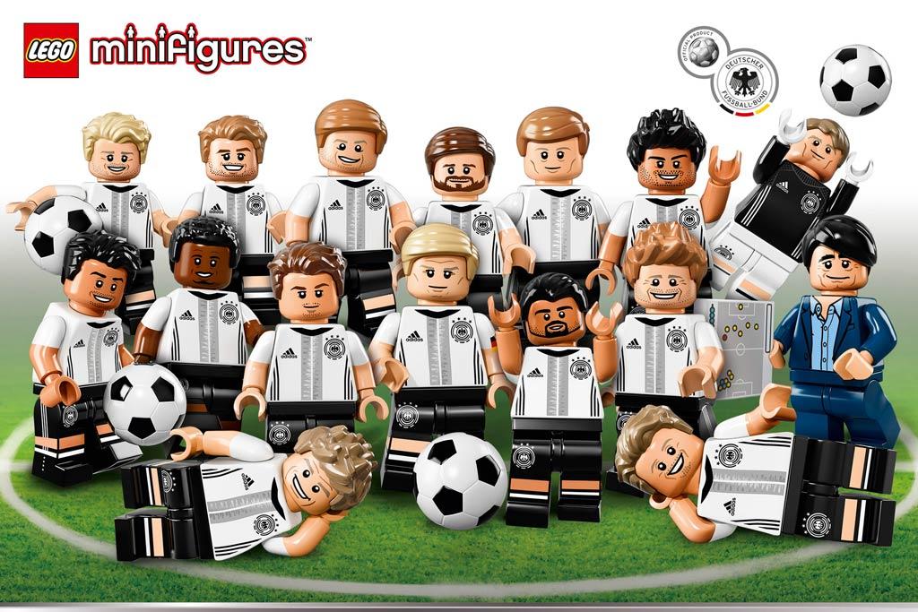 Die Mannschaft! | © LEGO Group