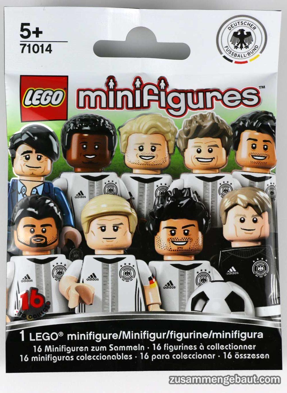 Lego Dfb Minifiguren Die Mannschaft 71014 Alle Infos Zur Box