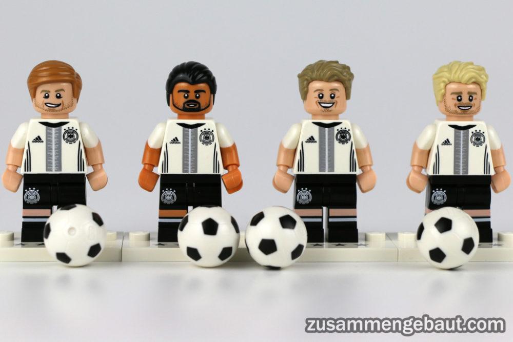 Lego Minifiguren Die Mannschaft Im Review Der Ball Rollt