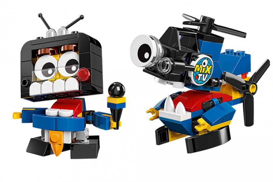 Bin ich jetzt im Fernsehen? | © LEGO Group