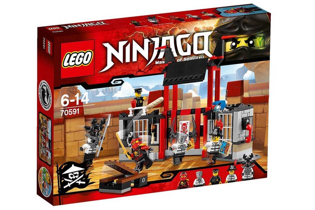 Lego Ninjago Kryptarium Prison Breakout (70591) | © LEGO Group