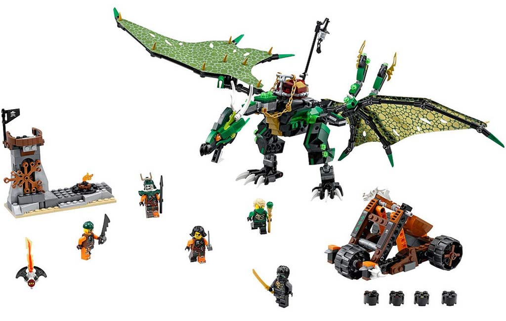 Lego Ninjago The Green NRG Dragon (70593) | © LEGO Group