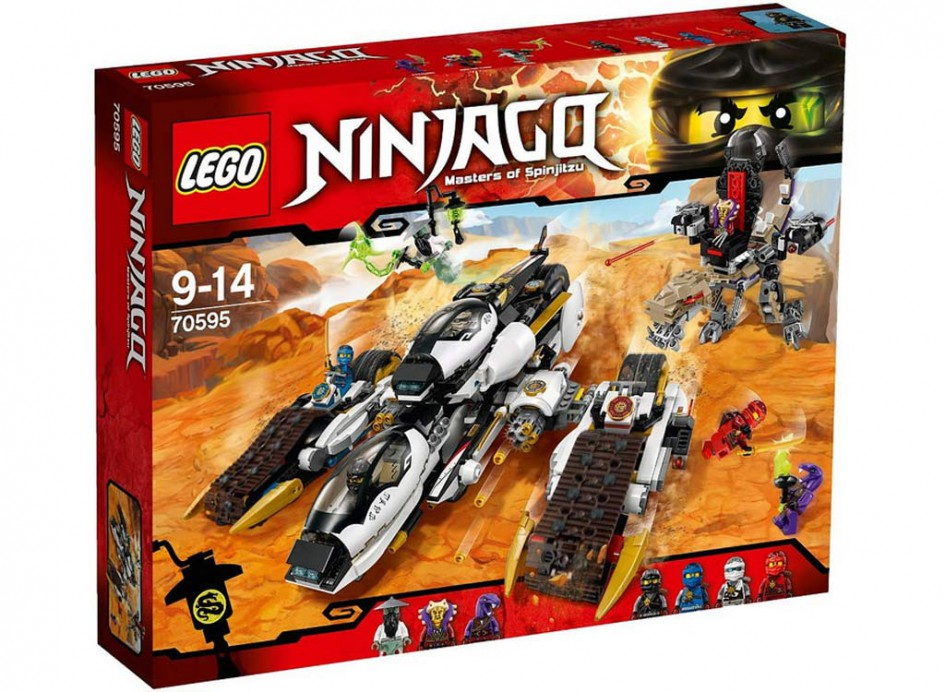 Lego Ninjago Ultra Stealth Raider (70595) | © LEGO Group