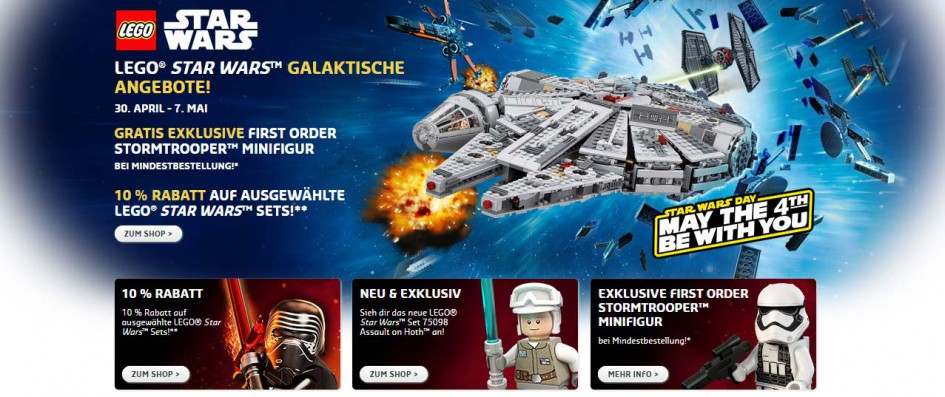 Lego Star Wars: May the 4th be with you! | © LEGO Group