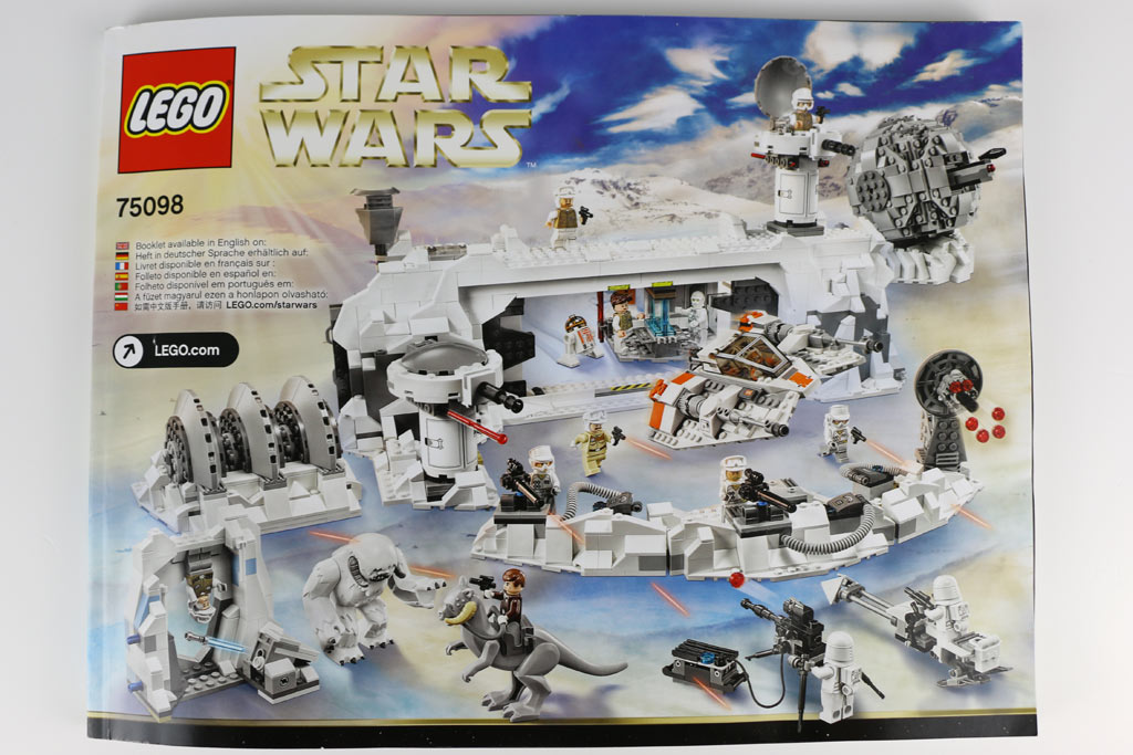 eisig lego star wars assault on hoth review 75098 zusammengebaut. Black Bedroom Furniture Sets. Home Design Ideas