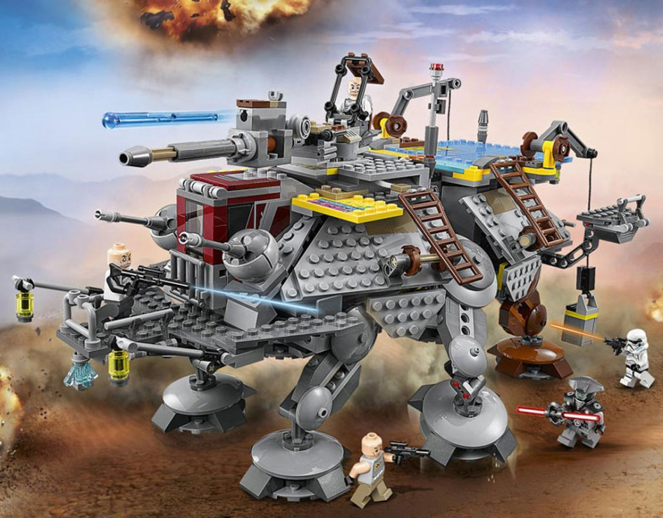 Lego Star Wars Captain Rex's AT-TE ( 75157) | © LEGO Group