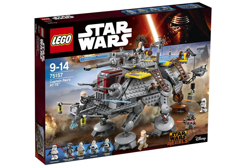 Lego Star Wars Captain Rex's AT-TE ( 75157): Box! | © LEGO Group