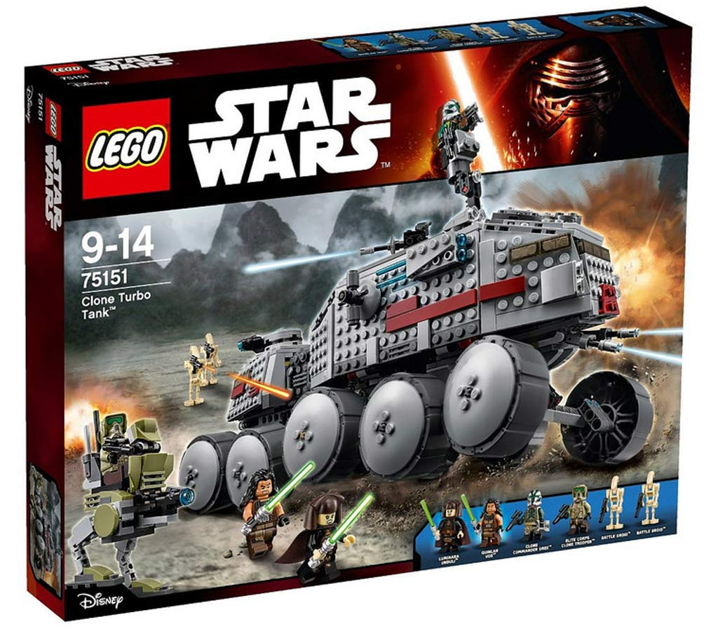 Lego Star Wars Clone Turbo Tank (75151) | © LEGO Group