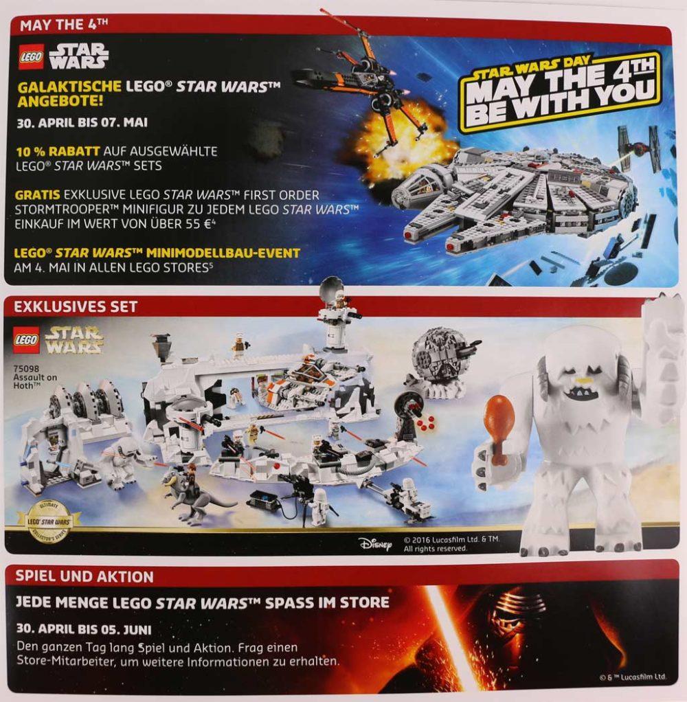 Lego Star Wars Woche: 10 Prozent Rabatt Auf Lego Star Wars