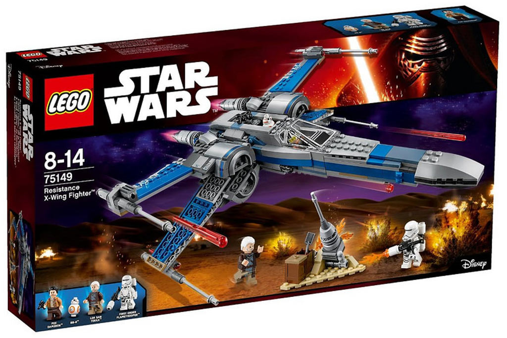 Und ein weiterer Lego Star Wars X-Wing ist im Anflug! (75149) | © LEGO Group