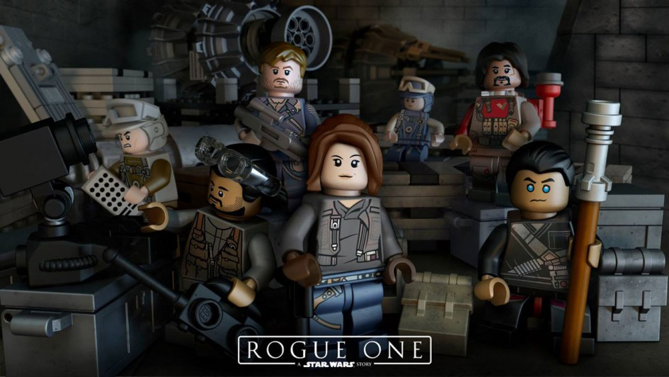LEGO Star Wars Rogue One:  Rebellin Jyn Erso und Konsorten | © LEGO Group