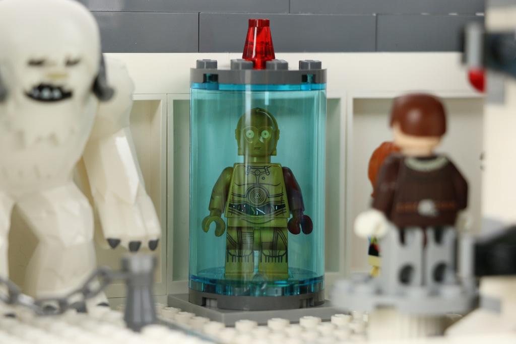 Beginnt das Spektakel, dann dreht sich C-3PO | © Andres Lehmann / zusammengebaut.com
