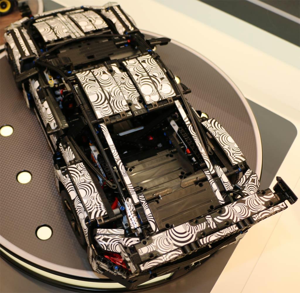 lego technic porsche 911 gt3 rs 42056 prototyp schicker. Black Bedroom Furniture Sets. Home Design Ideas