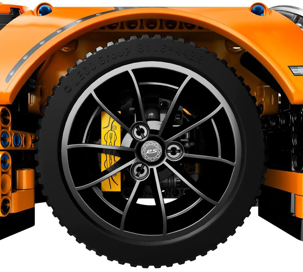 Lego Technic Porsche 911 Gt3 Rs 42056 Erscheint Am 1 Juni Zusammengebaut
